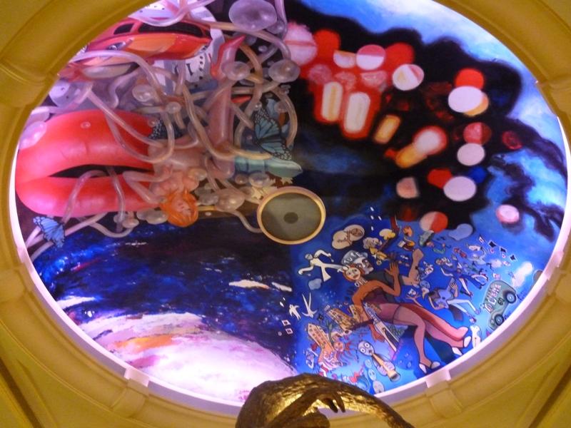 ラ・クーポールの天井