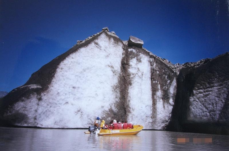 氷河ボートツアー