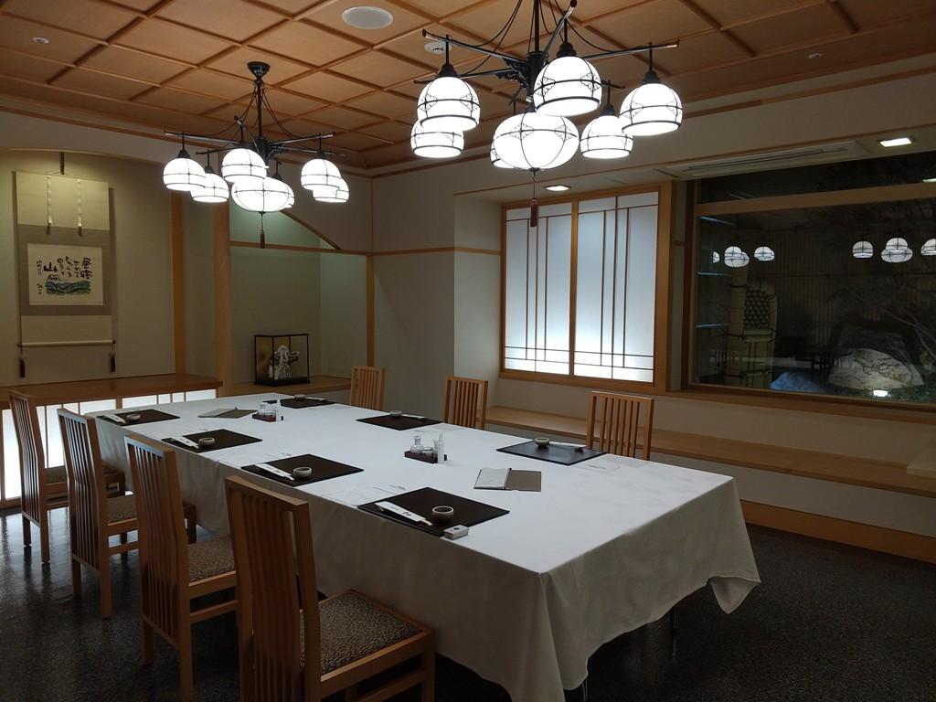 ANAクラウンプラザホテル宇部の日本料理雲海